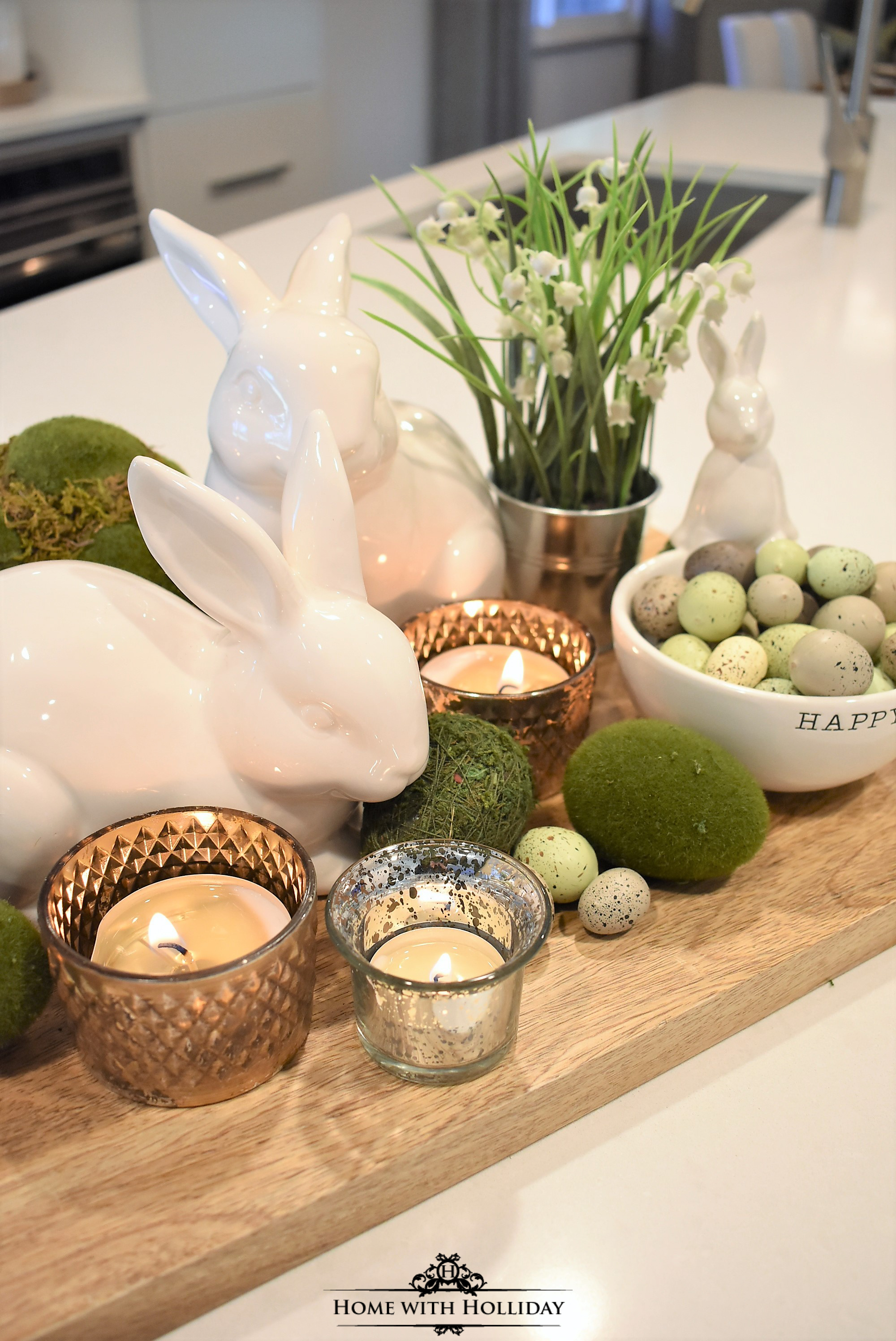 Wonderful Easter Decor Part - 3: Tips For Creating Simple Spring Or Easter Decor