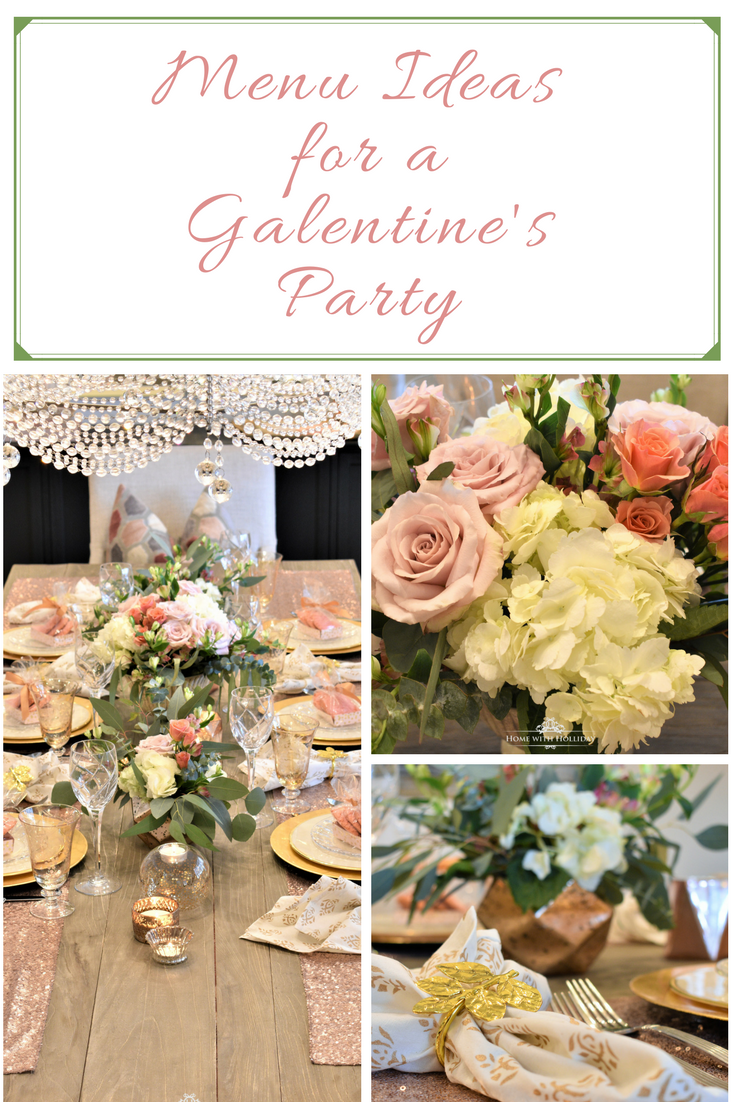 February Dinner Party Ideas Part - 25: Menu Ideas For A Galentineu0027s Party