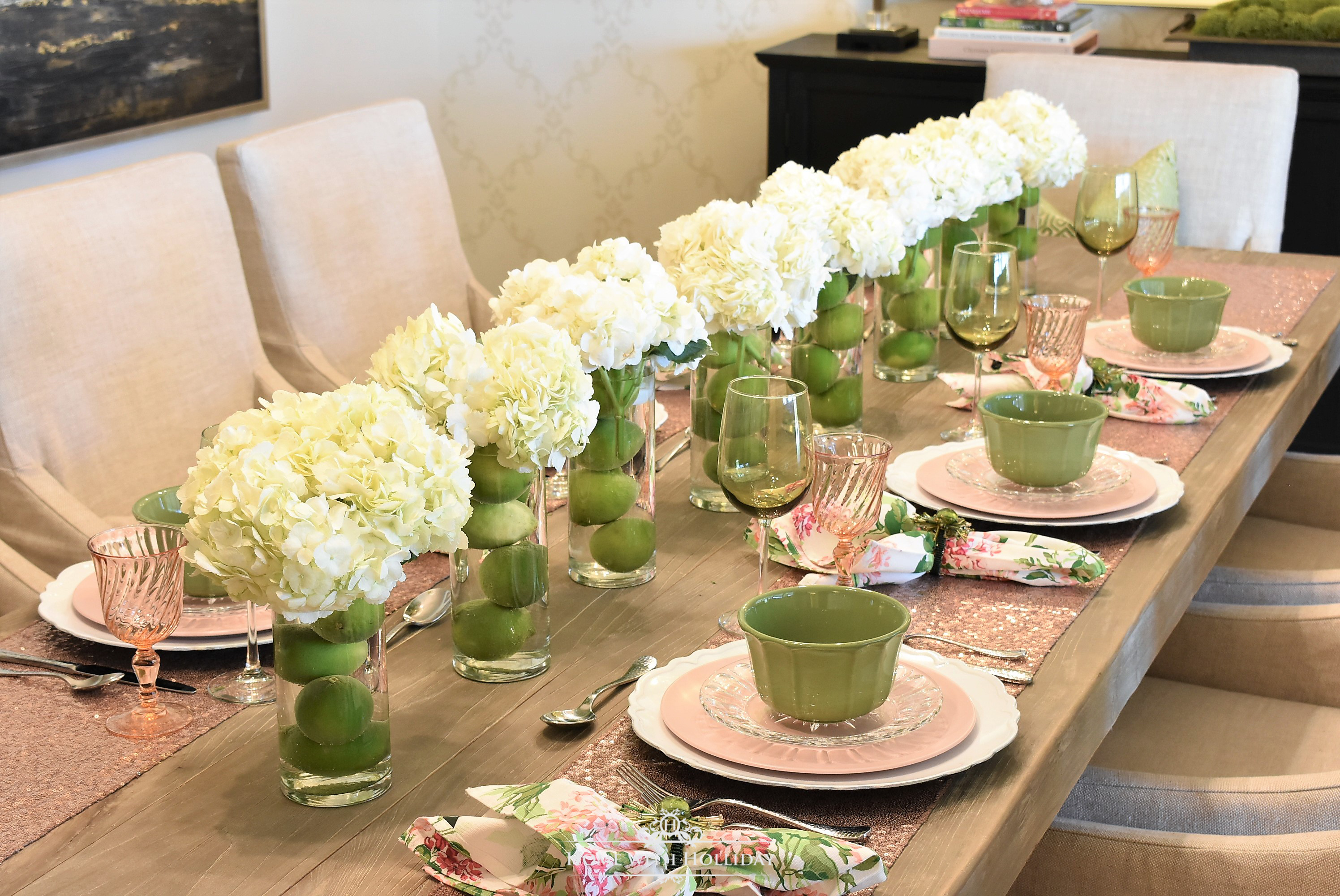 Spring Table Setting for Mother\u0027s Day Luncheon & Spring Table Setting for Mother\u0027s Day Luncheon - Home with Holliday